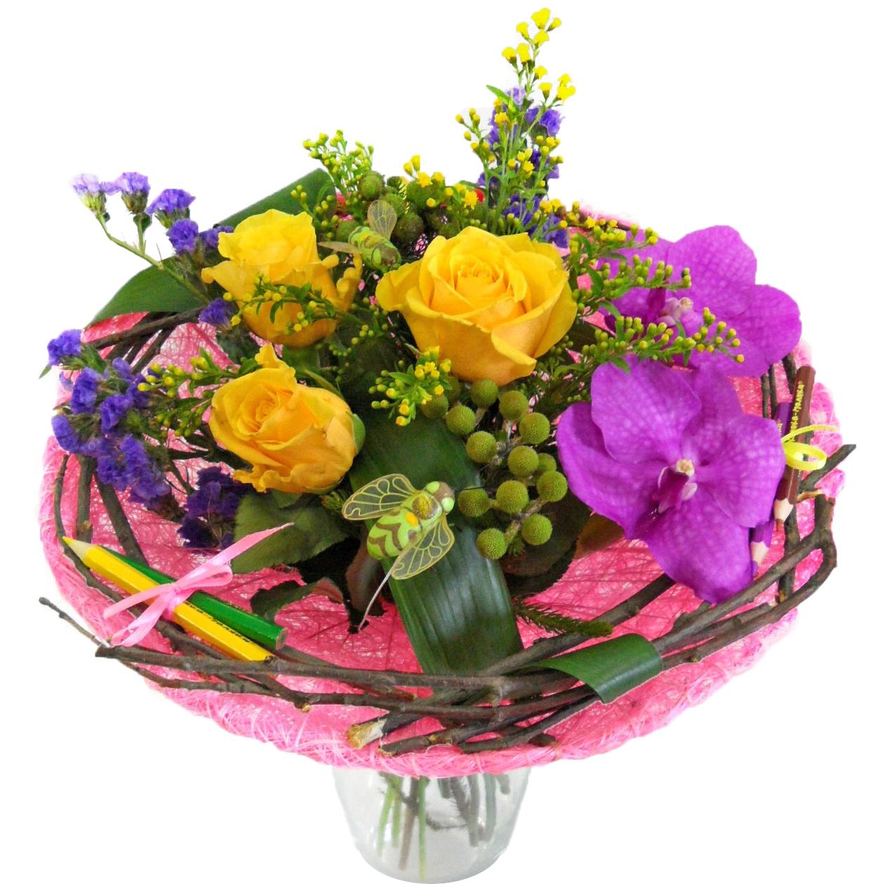 Заказ цветы букеты от 1000 рублей, букет ромашек купить